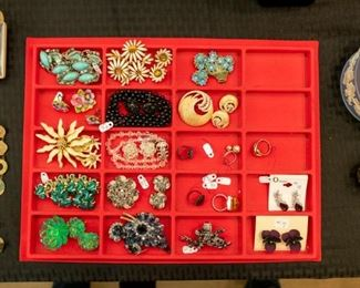 Lots of jewelry!  More has been added since pictures were taken.