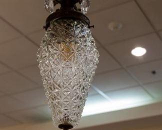Vintage hanging lamp!