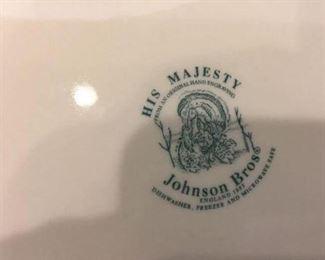 His Majesty Johnson Bros.