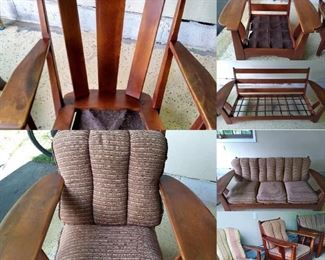 Lovely Cushman Shaftsbury Sette, Shaftsbury Chair and a Dorset Barrel Chair. All three only $1500!!