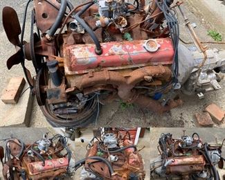 Yes, even a 1970 Chevy engine and transmission.  Antique farm equipment, bicycles, beautiful things too. We've got so much to sell. Lighten our load and take a gander see with me.  Distanced. Private.  Mask worn.  Call/text Steph at (518) 944-0256