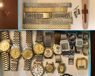 Watches and bands assortment...