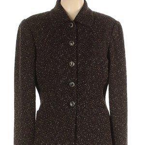 Dana Buchman wool fitted blazer sz 12