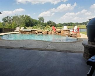 Pool comes free with the house.  Bring your check book!