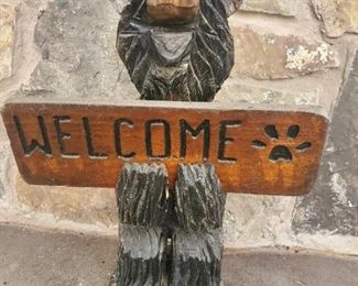 I have never wanted to be welcomed by a bear.  This is why I do not camp!