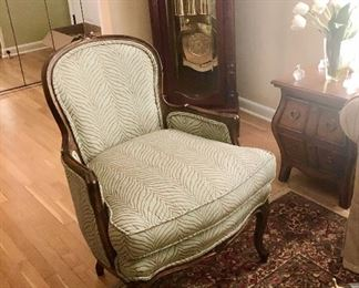 (1 of 2) Bergere Chairs, $175