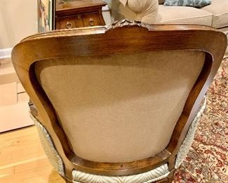 Back of Bergere Chair