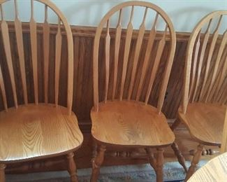 3 OF THE 6 CHAIRS