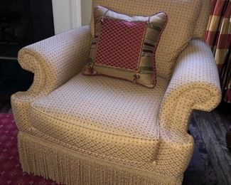 2 Smith-Craft upholstered armchairs