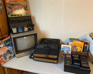Atari Game Systems..The Older TV's are GREAT for Video Gaming!!