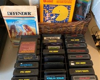 Game Cartridges Atari