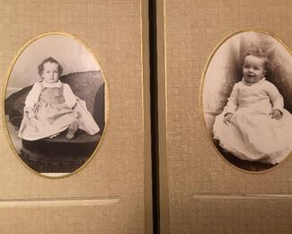 Sample of cabinet cards