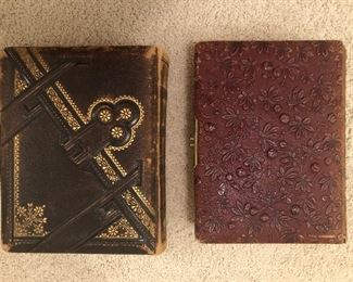 Cabinet card albums