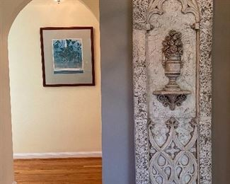 WALL HUNG ARCHITECTURAL RELIEF