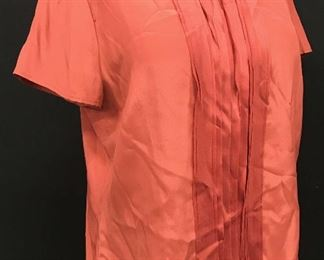Boutique CAROLL INT'L Short Sleeve Silk Blouse