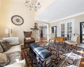 Burr Ridge Estate Sale Living Room