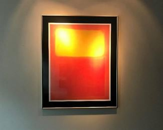 Sunshine Print - Double Matted and Framed (32L x 39H)