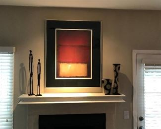 Great Print -  Double Matted and Framed (32L x 39H)