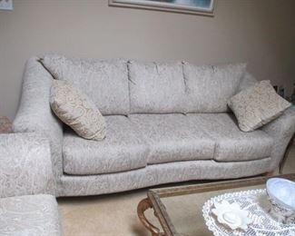 Klaussner Beautiful Living Room Suite