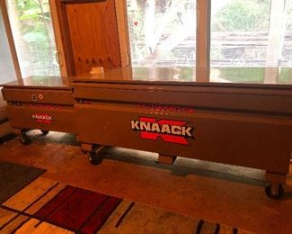 WE HAVE 8 KNAACK TOOL BOXES!!
