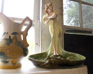 Beautiful porcelain figure