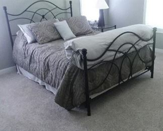 Modern tube steel bed