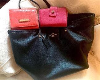 Coach purse and designer wallets