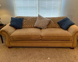 Sofa & side tables- large furniture AVAILABLE for Presale immediately, call for pricing!
