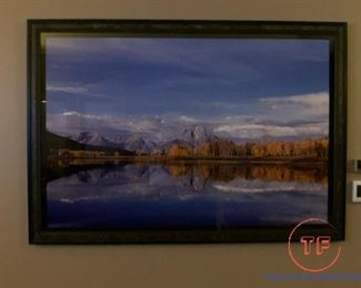 "THOMAS MANGELSEN ""Wyoming On My Mind"" 40"" x 60"" Limited Edition Signed Photograph"