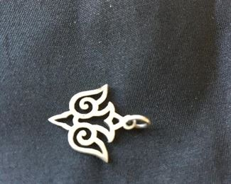 Retired James Avery Silver Open Dove Charm Never worn. Jump loop is uncut.