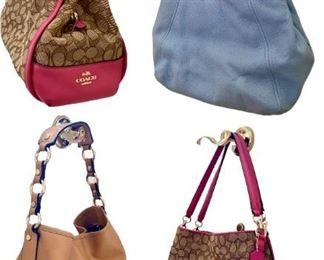 Designer handbags Michael Kors, coach, Dana Buchman