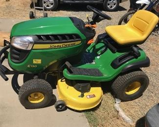 John Deere tractor will be listed online prior to the sale. https://www.estatesales.net/CA/Marysville/95901/marketplace/26629If those items do not sell they will be included in this sale.