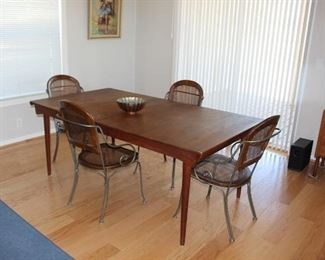 Teak Dining Table will be listed online prior to the sale. https://www.estatesales.net/CA/Marysville/95901/marketplace/26629If those items do not sell they will be included in this sale.