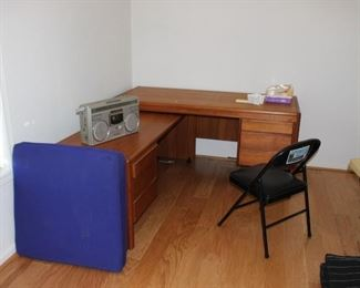 The corner desk will be listed online prior to the sale. https://www.estatesales.net/CA/Marysville/95901/marketplace/26629If those items do not sell they will be included in this sale.