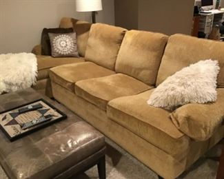 Walter E Smith sleeper sectional purchased for $3100 selling $900