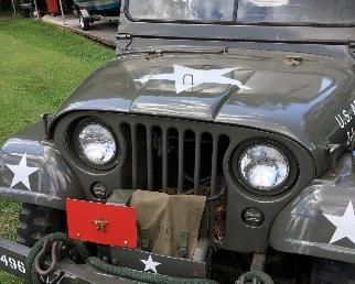Jeep is a 1955 willys m38 A1 with  3,374 miles on this Jeep engine as it was replaced 5 years ago by a certified mechanic.
