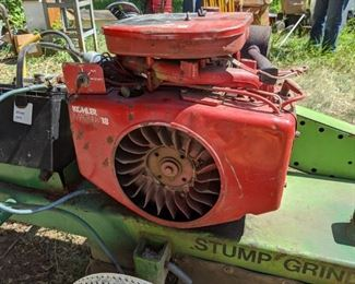 Stump Grinder, working. Will pre-sell $1,200. Call 651-408-4721 to purchase.
