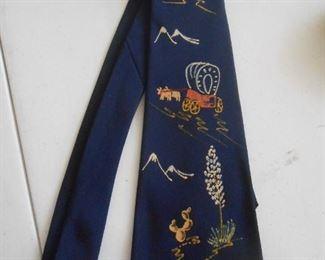 Hand-painted vintage tie by...