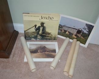 """Jericho - The South Beheld"" book, various prints & lithos"
