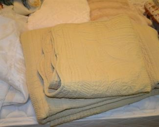 selection of comforters & bedding