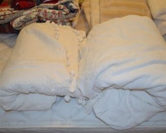 vintage chenille bedspreads/coverlets