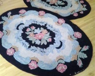 Vintage Pricilla Turner Rug Guild, Wool Rugs