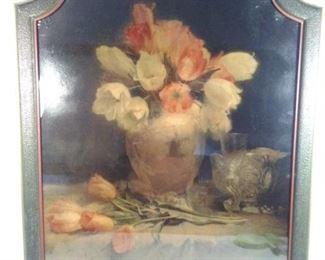 Antique Floral Picture