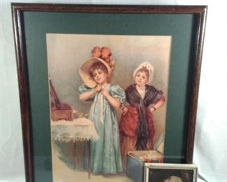 Prints featuring Victorian Young Ladies