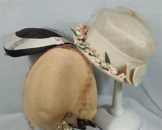 vintage antique ladies hats