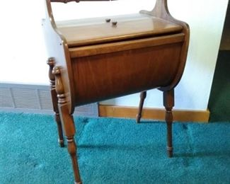 Vintage Solid Wood Sewing Stand