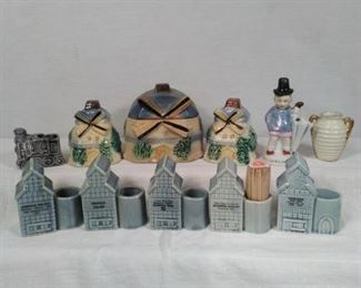 Vintage tooth pick holders