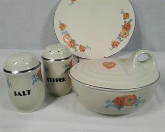 Halls Superior Kitchenware Orange Poppy