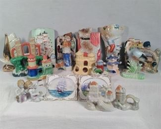 Made in Japan Wall vases and figurines