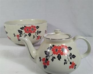 Hall Superior Kitchenware and Red Poppy